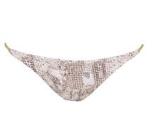 Bikini-Hose SUN DAPPLED DECADENCE - braun