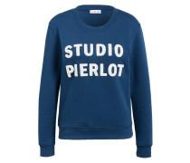 Sweatshirt TOUSSAINT - blau/ weiss