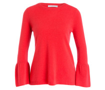 Cashmere-Pullover - koralle