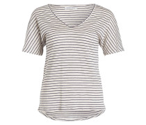 T-Shirt ALICE - creme/ navy gestreift