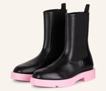 Chelsea-Boots SQUARED - SCHWARZ