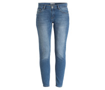 Skinny-Jeans - light blue denim