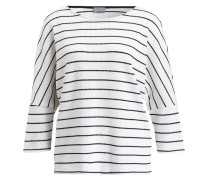 Pullover TRISH - offwhite/ navy gestreift