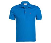 Piqué-Poloshirts CROWLEY - blau