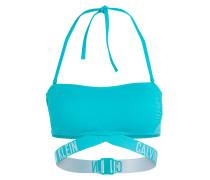Bandeau-Bikini-Top INTENSE POWER - blau