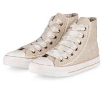 Hightop-Sneaker GIANNA - GOLD