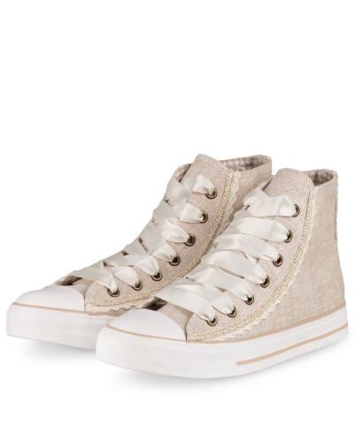 Hightop-Sneaker - GOLD