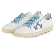 Sneaker 2.0 - WEISS/ BLAUGRAU/ HELLBLAU