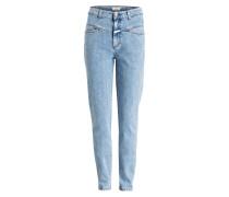 Mom-Jeans POWER PUSHER - blau