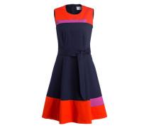 Kleid HADESA - orangerot/ navy