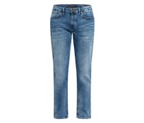 Jeans Regular Fit mit verkürzter Beinlänge