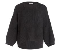 Pullover mit Cashmere-Anteil - grau