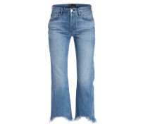 Cropped-Jeans SHELTER AUSTIN - byrd blue