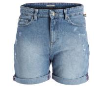 Jeans-Shorts - blue medium wash