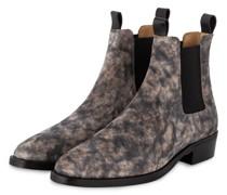 Chelsea-Boots - GRAU/ CREME