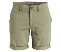 Shorts FREDDY Straight-Fit - grün