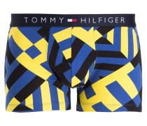 Boxershorts ICON - dunkelblau/ gelb
