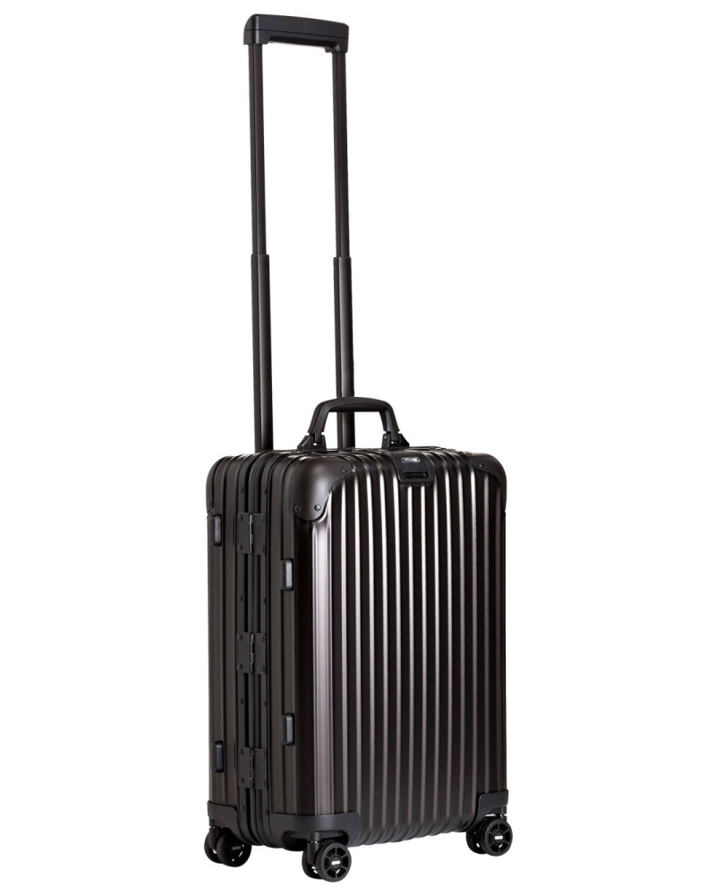 rimowa damen rimowa topas stealth multiwheel cabin trolley reduziert. Black Bedroom Furniture Sets. Home Design Ideas