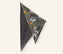 Dreieckstuch aus Seide