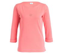 Shirt FLORENA mit 3/4-Arm - pink