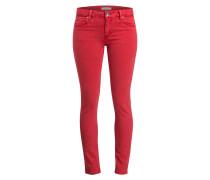 Skinny-Jeans - rot