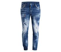 Destroyed-Jeans SKATER Slim-Fit