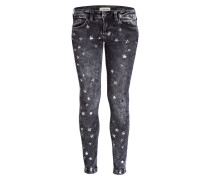 Skinny-Jeans - denim black