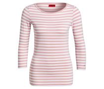 Shirt DANNELA mit 3/4-Arm - lila