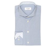 Hemd Contemporary-Fit - blau meliert