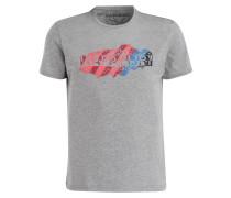 T-Shirt SERVIAN - grau meliert