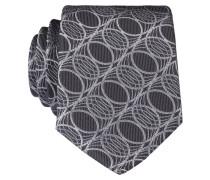 Krawatte - grau/ silber