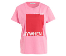 T-Shirt - pink/ rot