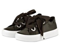 Plateau-Sneaker - dunkelgrün