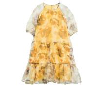 Kleid IMANIL mit Volantsbesatz