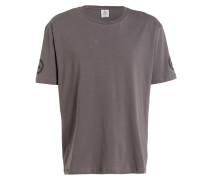 Oversized-Shirt - grau