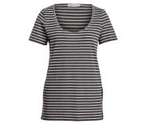 T-Shirt NOBEL - schwarz/ weiss gestreift