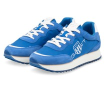 Plateau-Sneaker BEVINDA - BLAU