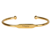 Armreif HAPPY - gelb