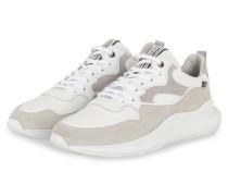 Sneaker FLORIS SPORT - WEISS/ HELLGRAU
