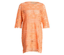 Strandkleid BOHO CROCHET - orange
