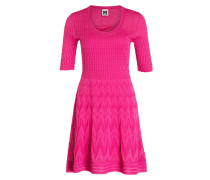 Strickkleid - magenta