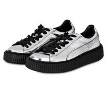 Sneaker BASKET PLATFORM - SILBER METALLIC
