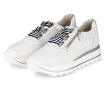 Plateau-Sneaker LAS VEGAS - WEISS/ SILBER