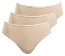3er-Pack Slips 95/5 - beige