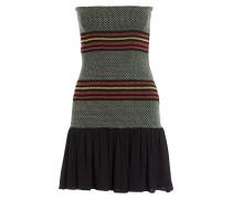 Kleid RIBBY - schwarz/ grün/ rot