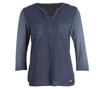 Blusenshirt - blaugrau