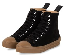 Hightop-Sneaker COURT SUEDE - SCHWARZ