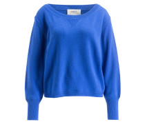 Cashmere-Pullover SHAWN - royal