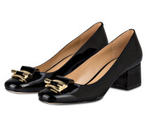 Lack-Pumps GLORIA - schwarz