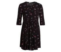 Kleid BUNKIE - schwarz/ blau/ rot